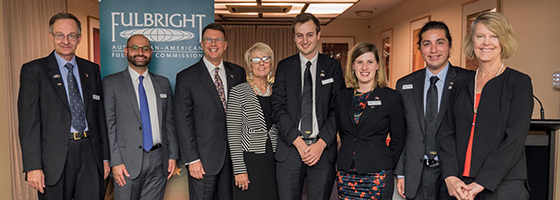 Fulbright reception in Canberra