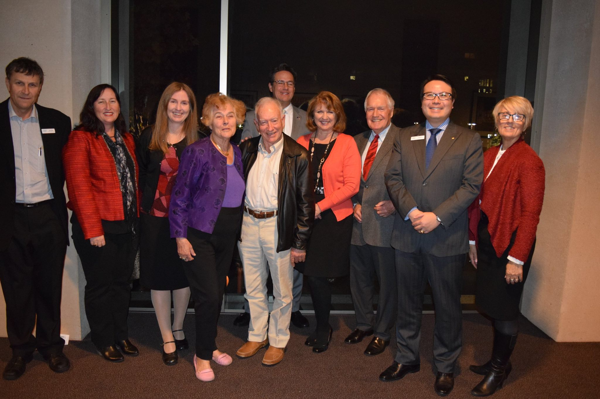 Generations of former Fulbrighters shared stories at the 2016 Fulbright WA Reception