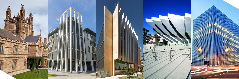 University campuses Australia