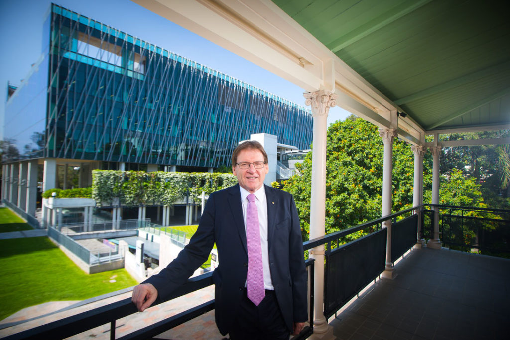 Professor Peter Coaldrake, Vice Chancellor of QUT