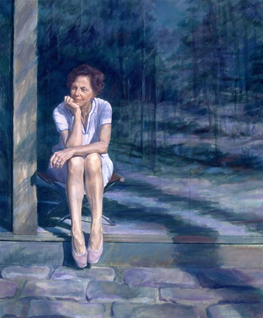 Jill Ker Conway by Sarah Belchetz-Swenson Credit - National Portrait Gallery