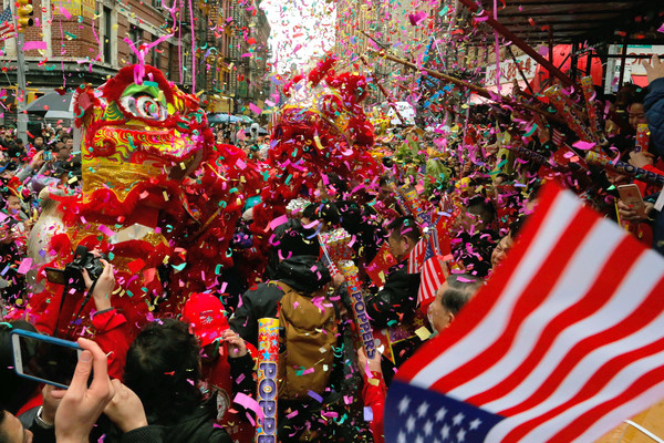Lunar New Year in Chinatown NY