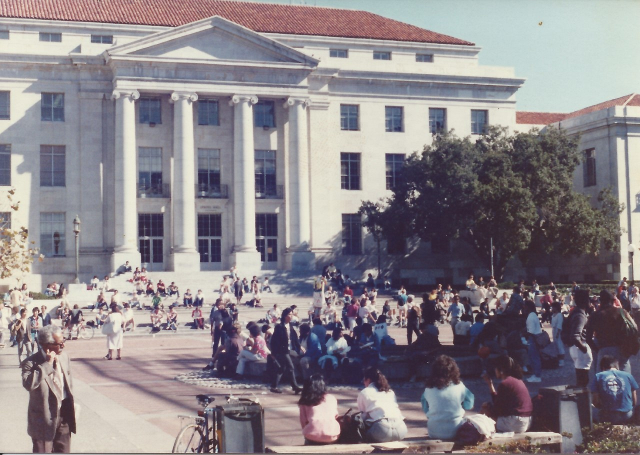 UC Berkeley campus, 1986