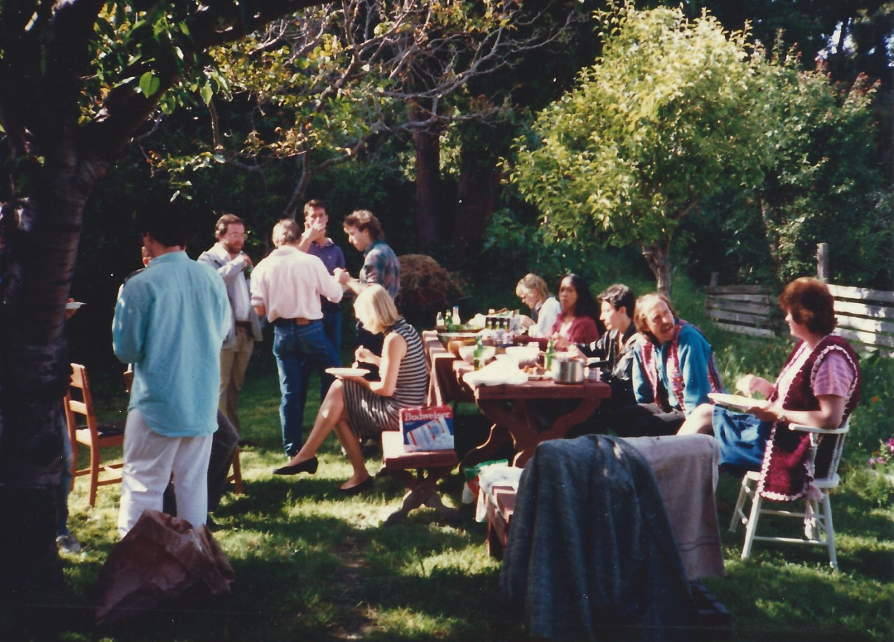 History department grad school party, 1986
