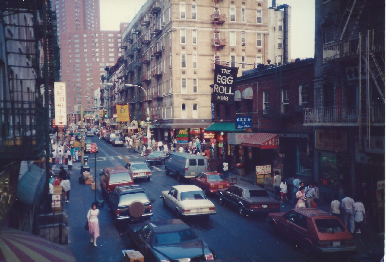 New York Chinatown, 1987