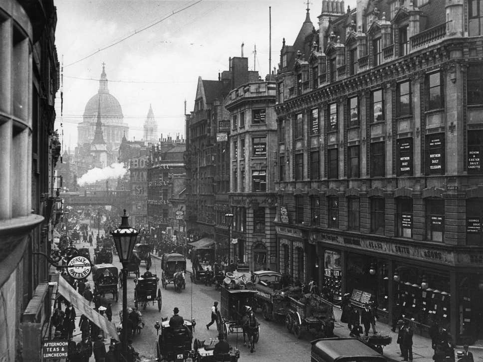 Fleet Street in London