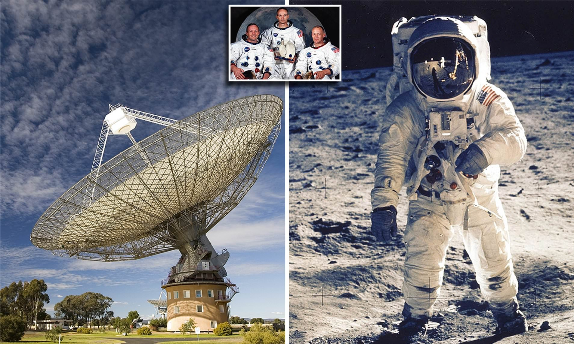 Australan Scientists Saved Moonlanding TV