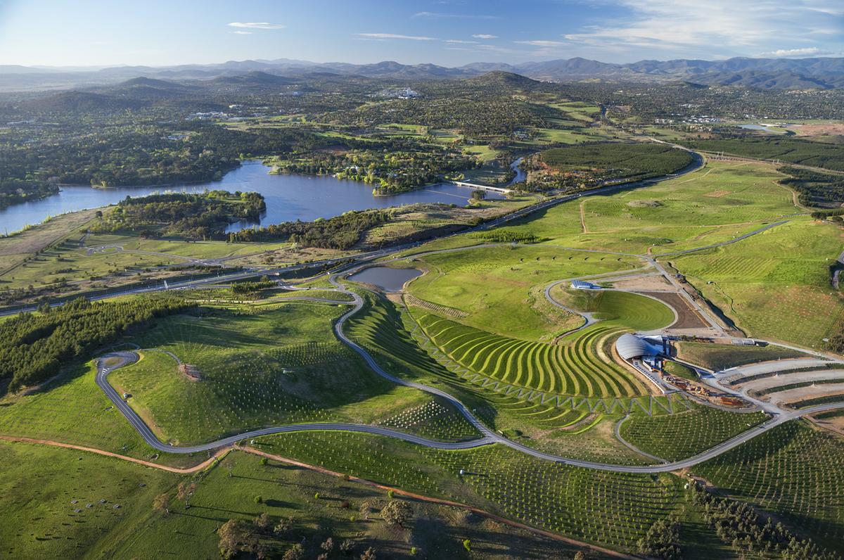 Arboretum in Canberra