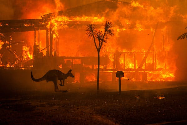 Fires in Australia 2020