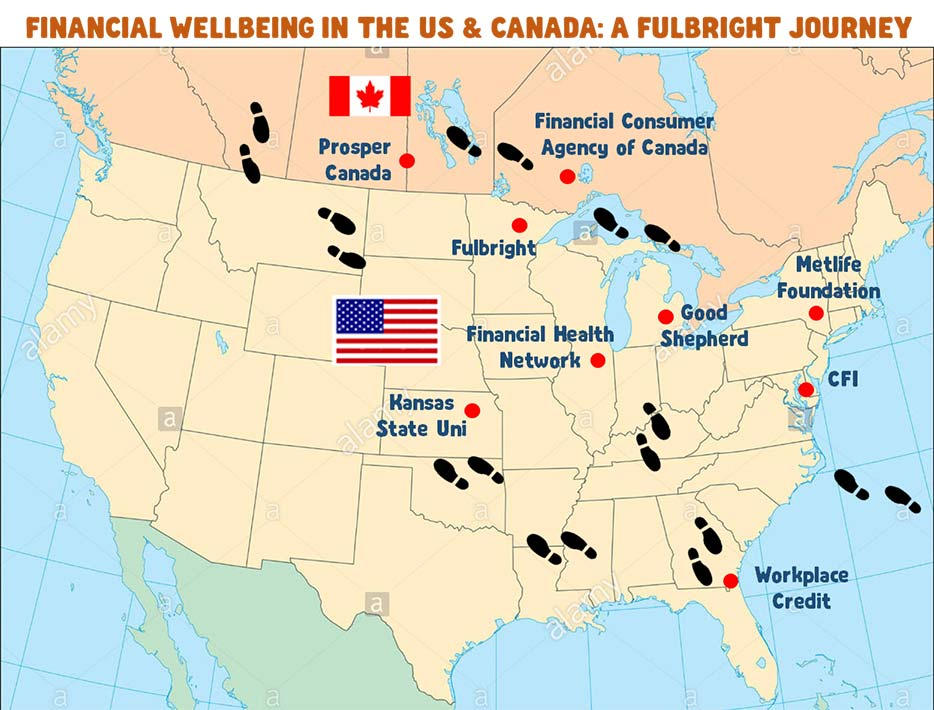 Financial Wellbeing in North America